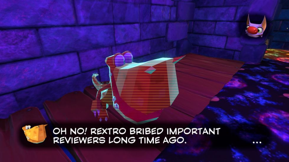 <em>Yooka-Laylee</em> is tongue-in-cheek in all the right ways.