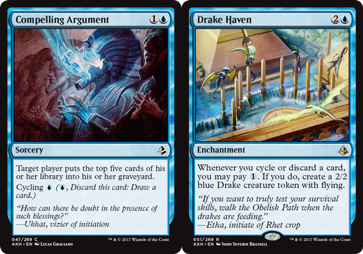 A nonsense Constructed combo... or DEATH BY HUNDREDS OF DRAKES? You decide...