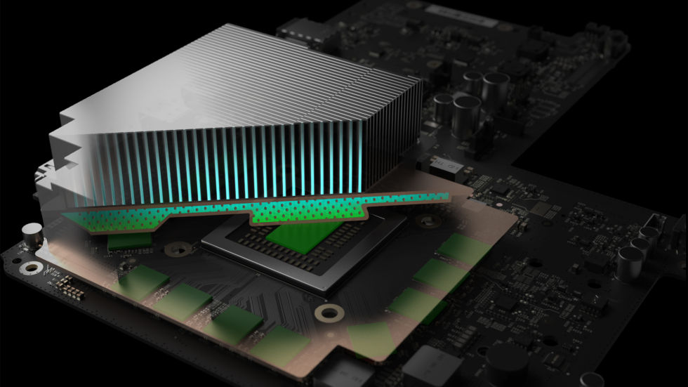 Project Scorpio features vapour chamber cooling.