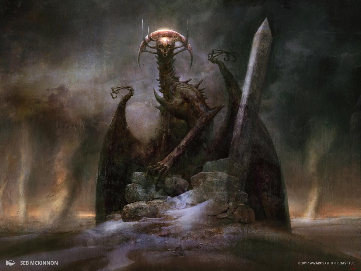 The Archfiend of Ifnir. Fairly terrifying.