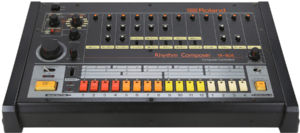 The Roland TR-808 is a cult classic.