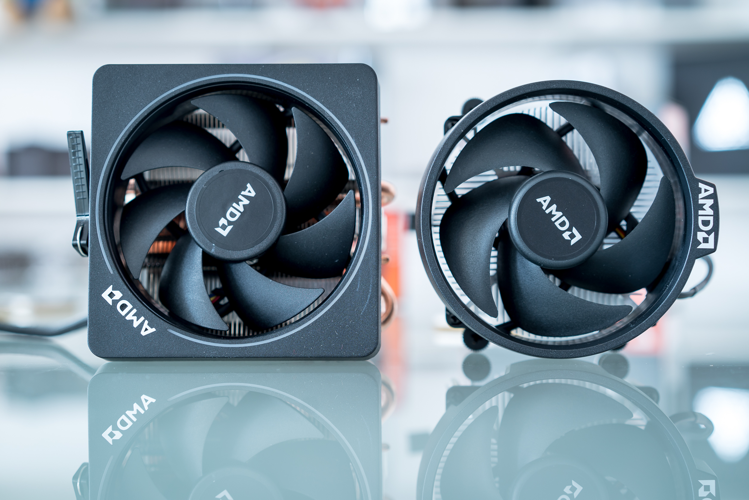 Certain retail Ryzen chips come packed with one of AMD's new air coolers.