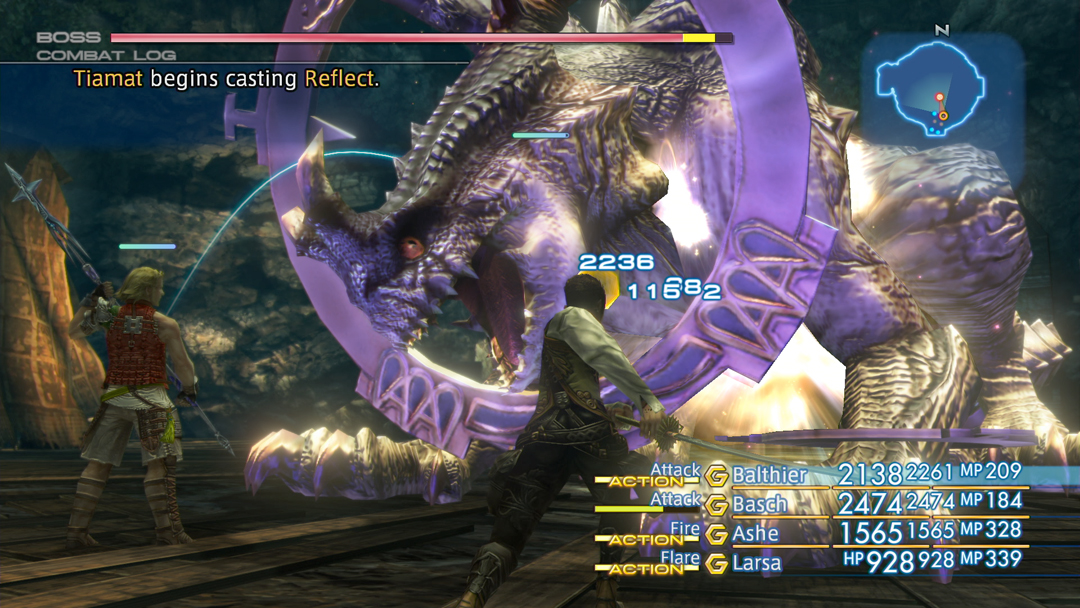 Boss battles are a <em>Final Fantasy</em> speciality.