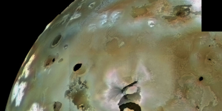 biggest volcano in our solar system - photo #11
