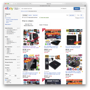 Ebay doesn't quite seem to have eliminated fully loaded boxes.