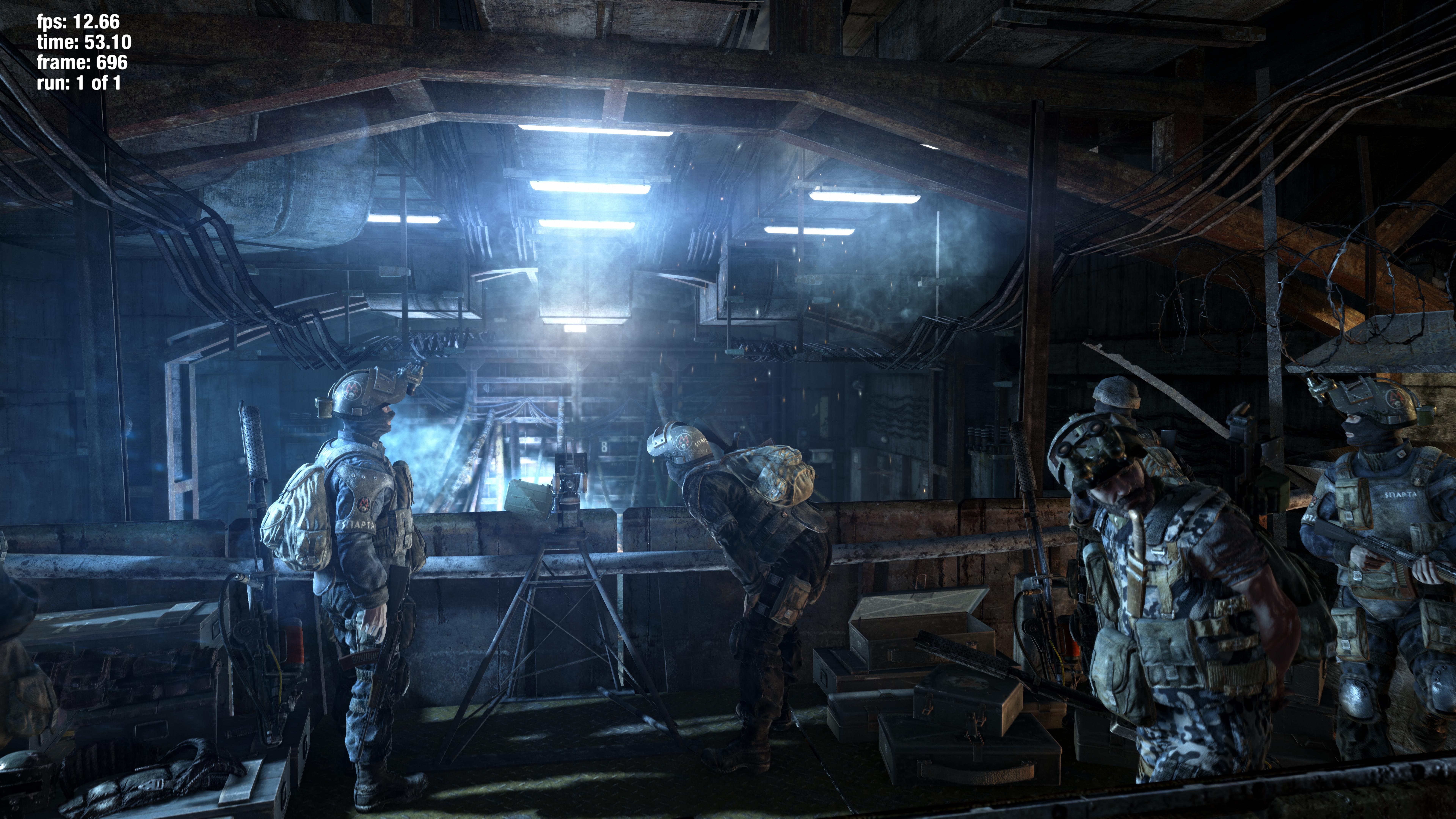 <em>Metro: Last Light</em>looks pretty good.