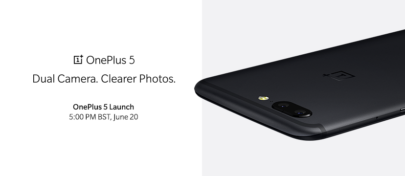 An official render of the OnePlus 5.