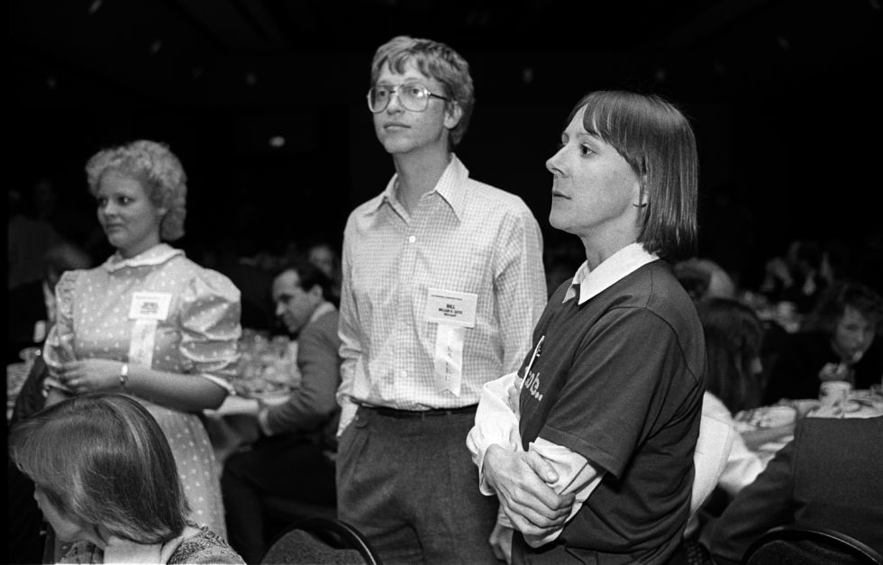 This is Bill Gates in 1984, aged 29. Now imagine how young he looked four years before this image in 1980, the year our story takes place.