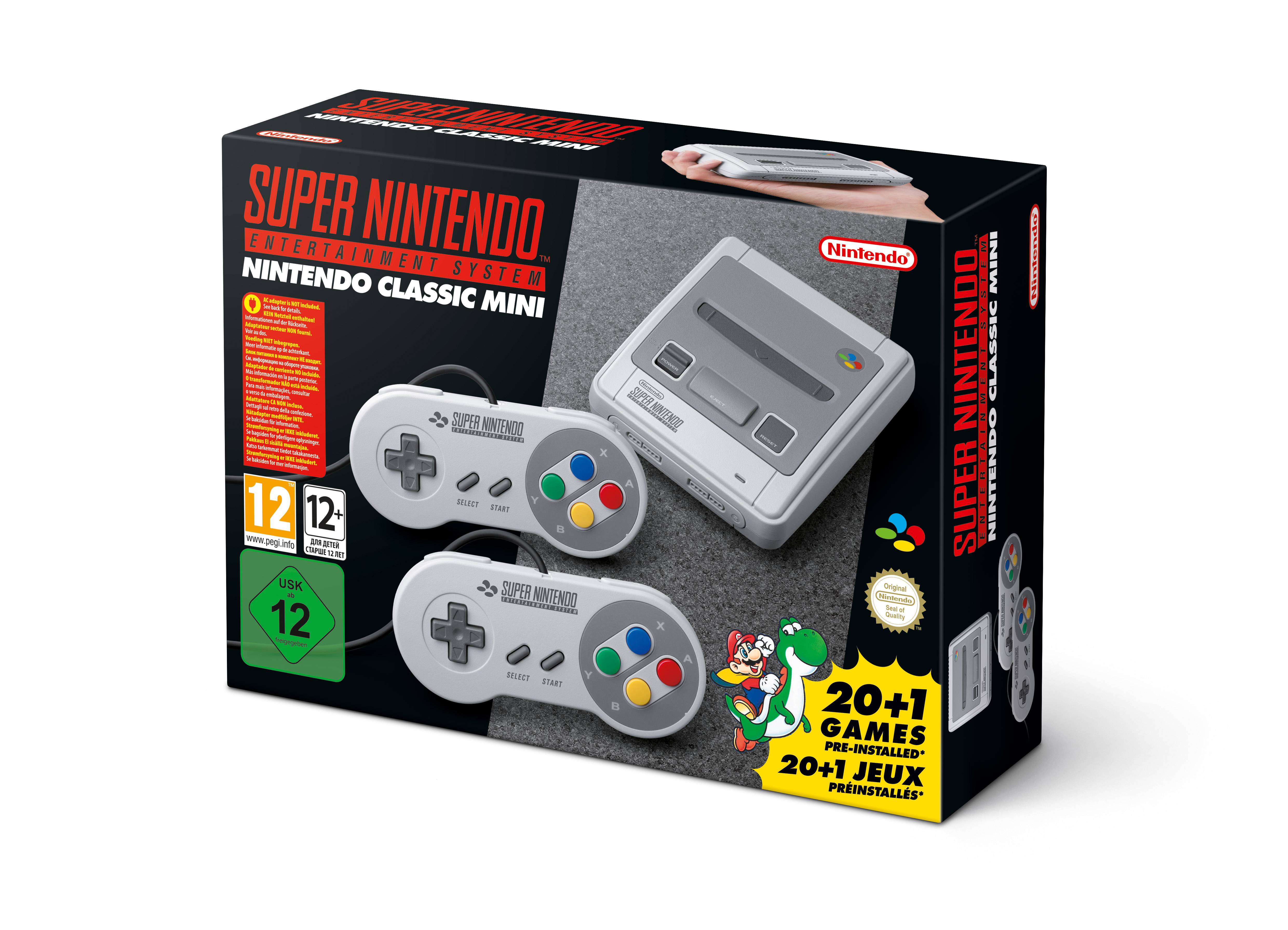 nintendo mini snes launches september 29 ars technica uk. Black Bedroom Furniture Sets. Home Design Ideas