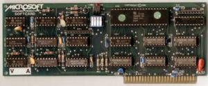The Microsoft Z80 SoftCard.