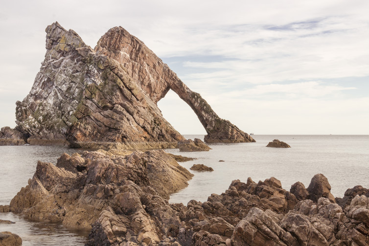 Bow Fiddle Rock could be around 541 million years old.
