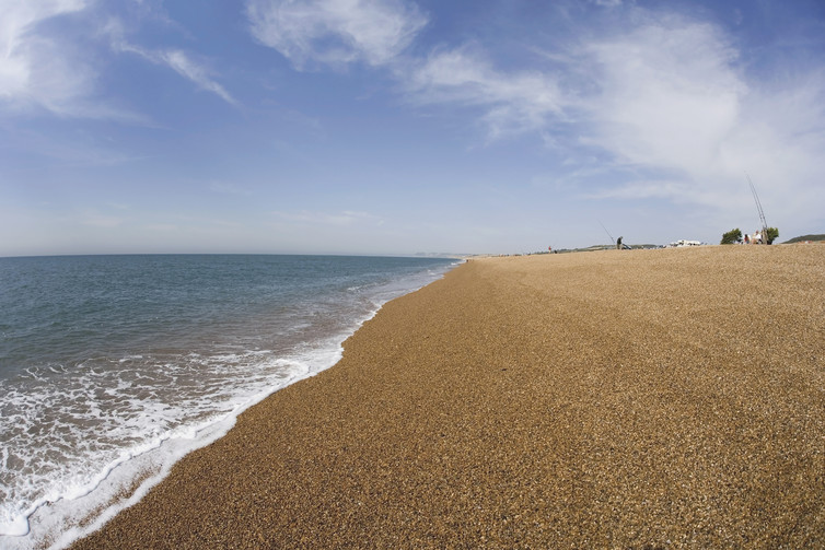 Chesil Beach is 29km long, 200 metres wide and as high as 15 metres in places.