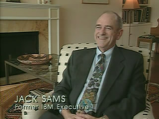 Jack Sams, appearing on the PBS show Triumph of the Nerds in 1996.