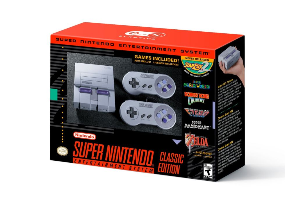 The US version of the mini SNES.