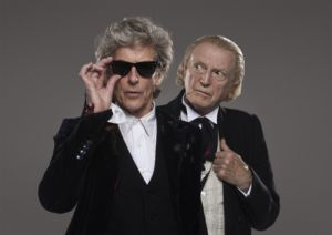 The 12th Doctor faces the original Doctor in the Christmas Special.