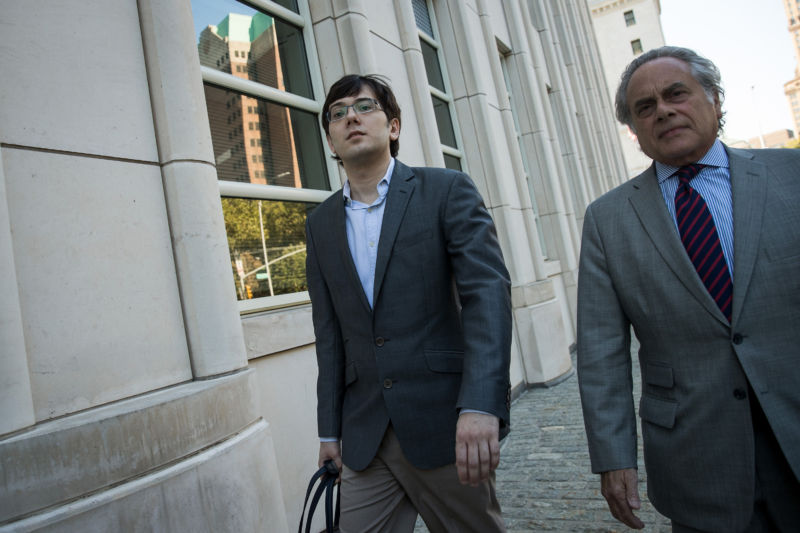 Jury Deliberations Begin At Martin Shkreli Fraud Trial