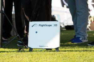 One of the newer FlightScope X3 doppler radar units.