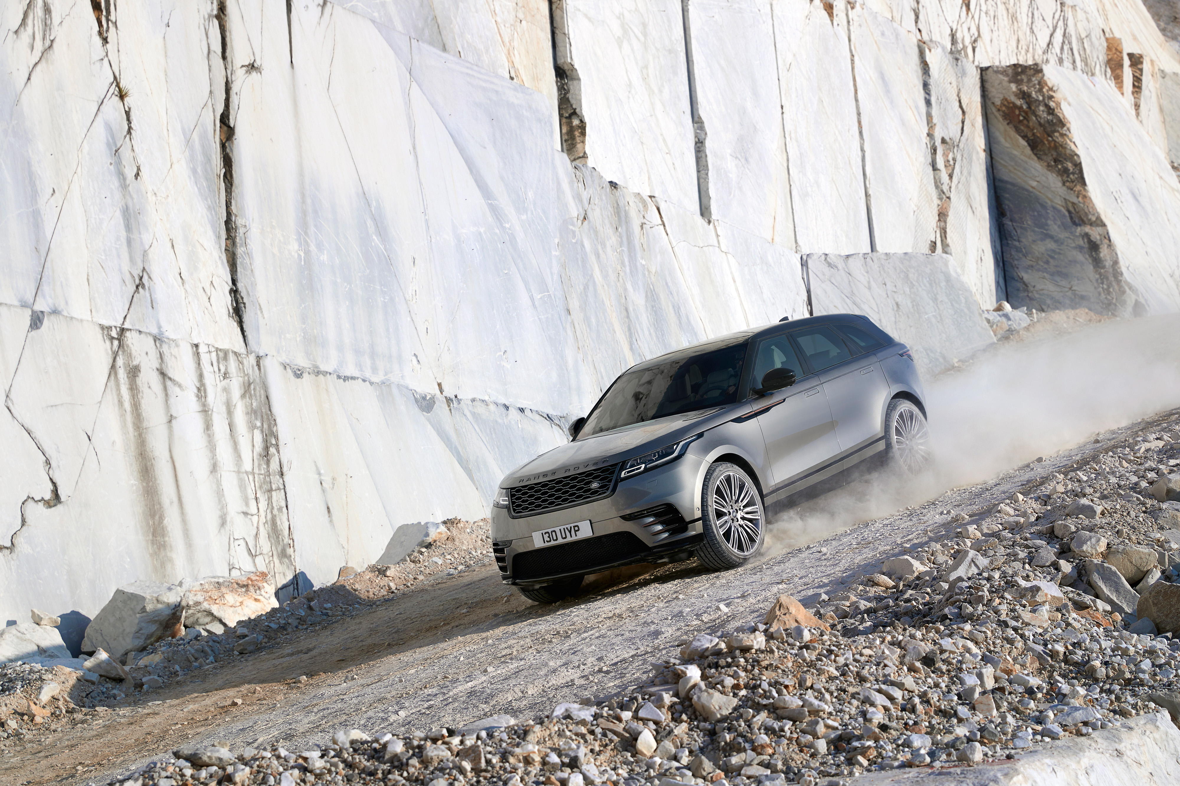 If you want to drive a Velar in a disused quarry, you can. If you know someone with a disused quarry.