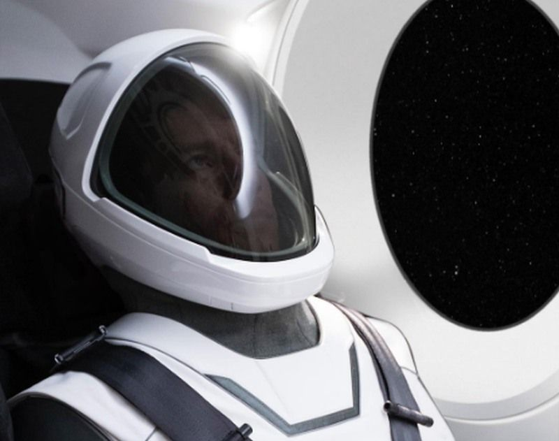 Elon Musk reveals new SpaceX spacesuit that could head to Mars