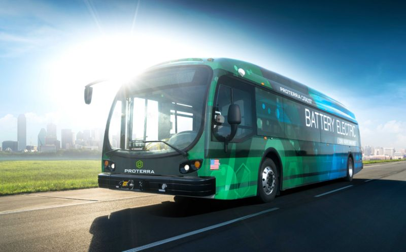 Californian company's electric bus claims setting world record for single charge range