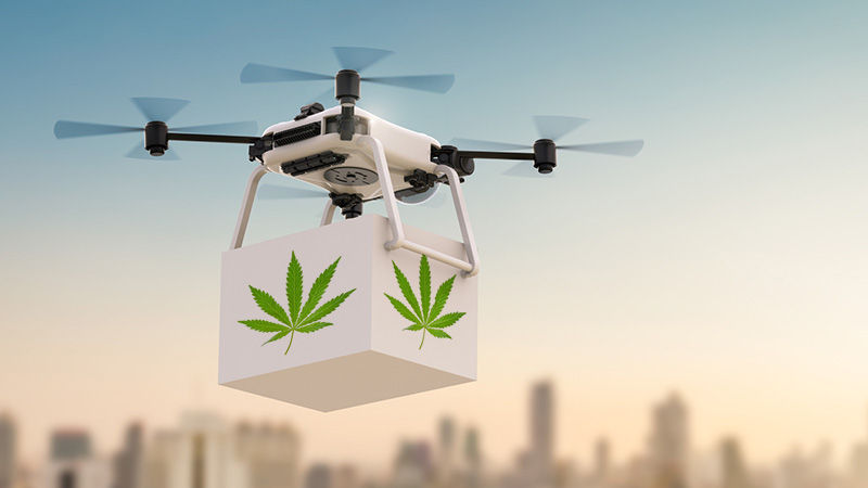 Drones and Self-Driving Cars Can't Legally Deliver Marijuana in This State
