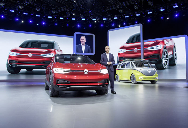 VW announces massive e-mobility investment in China