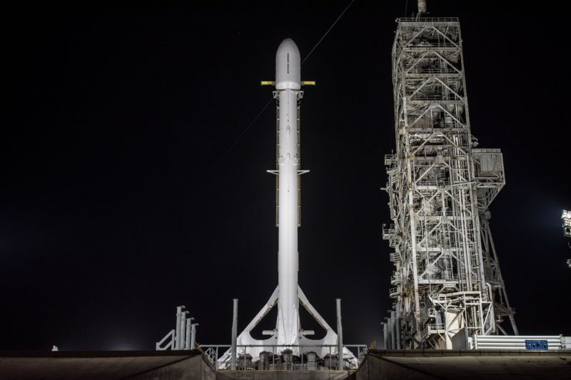 SpaceX Is Launching the Secret Zuma Mission Tonight