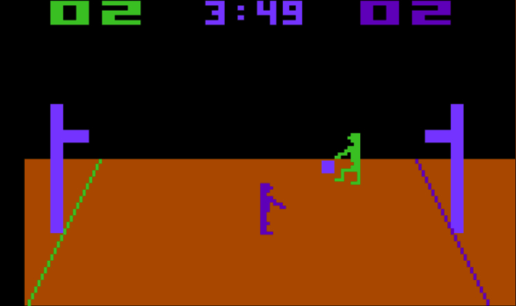 That isn't some Microsoft Paint rendering, I played actual <em>Basketball</em> for Atari against my dad.