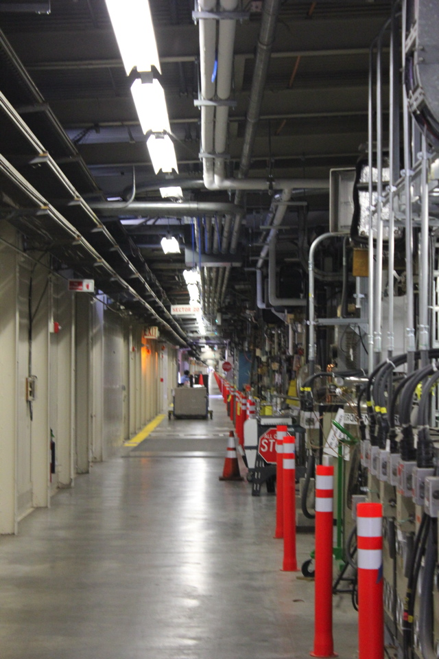 The FACET (Facility for Advanced Accelerator Experimental Tests) is huge—nearly two miles long.