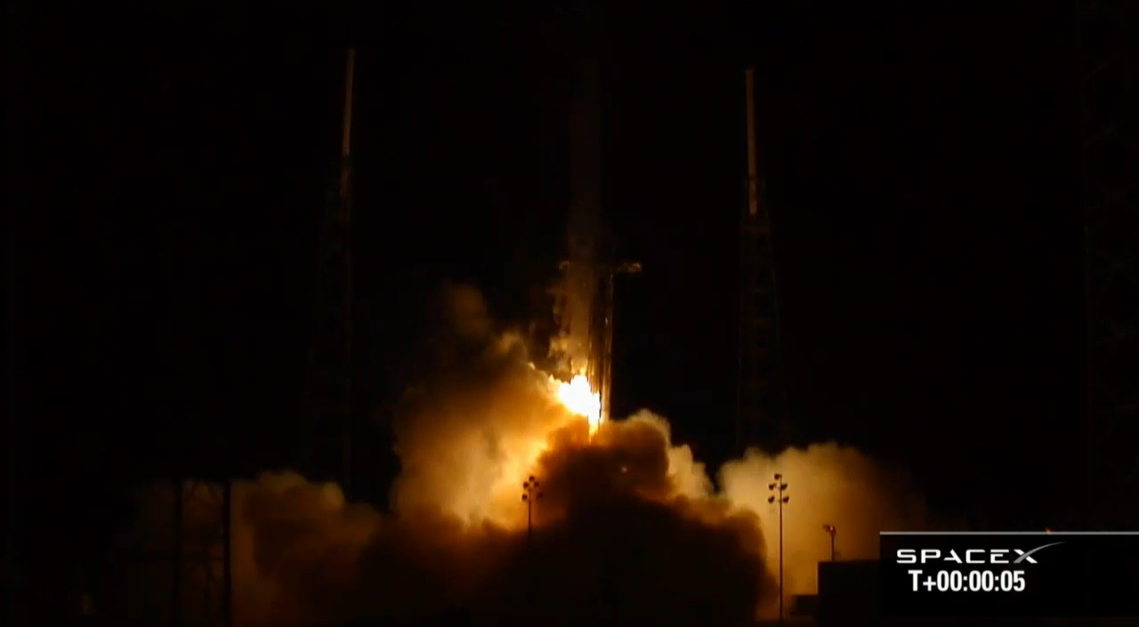 And five seconds after launch.
