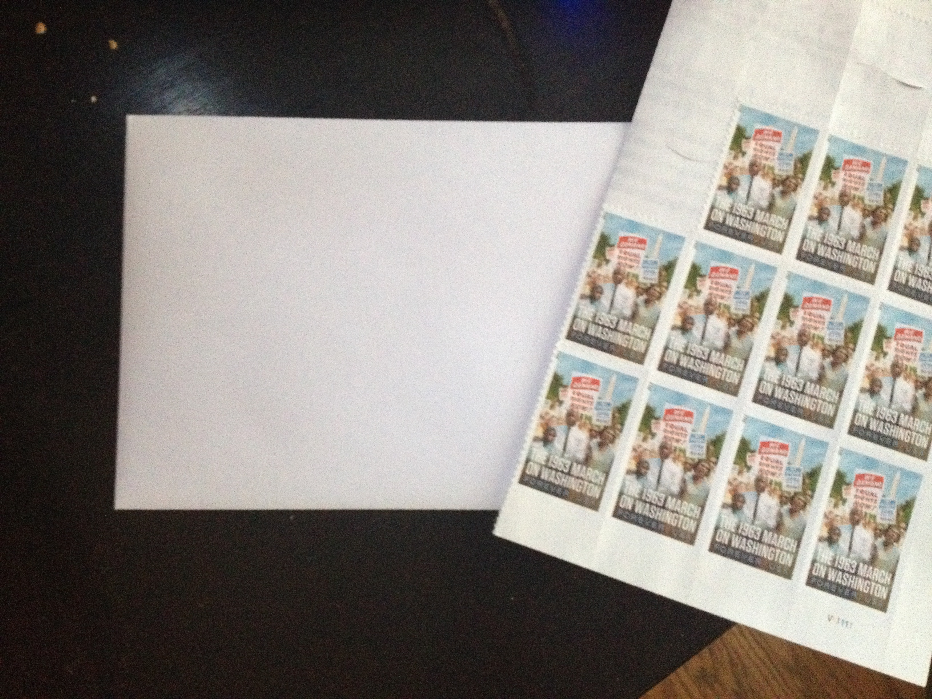 Ars editor Cyrus Farivar's actual envelopes and stamps