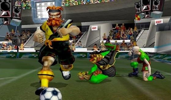 Sega Soccer Slam, Black Box Games'in çıkardığı bir oyundu, daha sonra EA tarafından satın alındı