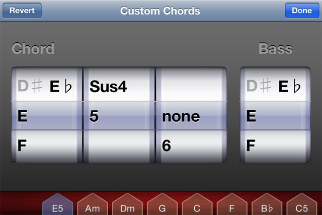 The new chord editor is perhaps the handiest feature, especially for more experienced songwriters.