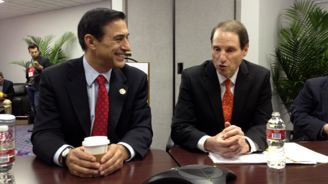 Representative Darrell Issa and Senator Ron Wyden