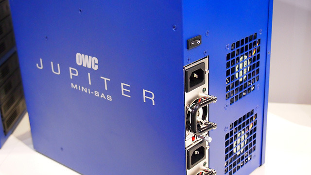 Jupiter towers and racks include redundant hot-swappable power supplies.