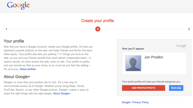If you see this page, and don't want a Google+ account, run as fast as you can!