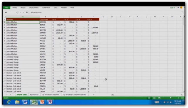 Excel 15 on Windows on ARM