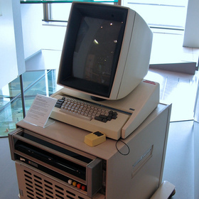 Xerox Alto, which pioneered the graphical user interface in the 1970s