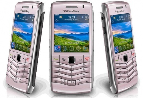 The BlackBerry Pearl. So pretty, you want to text on it (not too quickly, though).