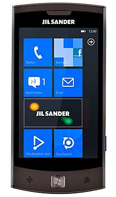 The Jil Sander-branded Lg E906 Windows Phone