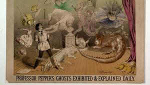 Pepper's Ghost dates back to the 19th century