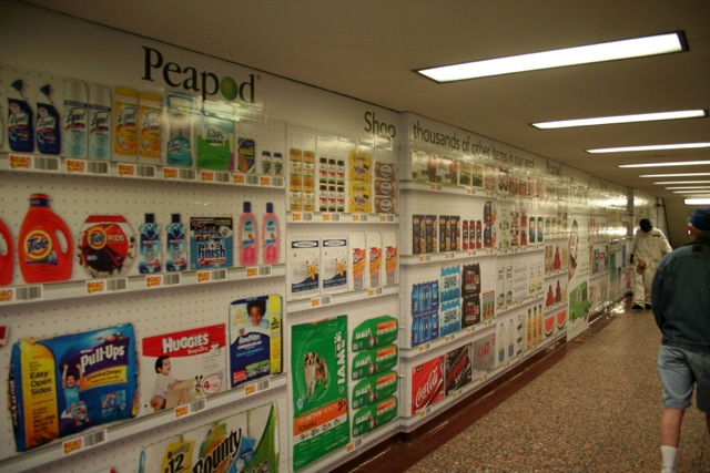 ...but those who did often made comments about how it looked like a grocery store. At least they get it!