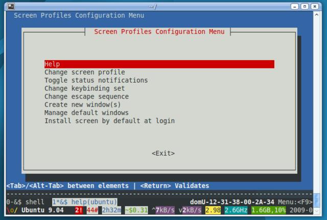 Ubuntu brings advanced Screen