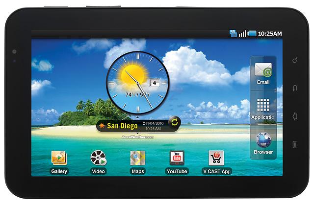 """Verizon calls """"first!"""" on $599 Samsung Galaxy Tab"""