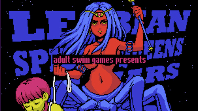 lesbianspiderqueentitle.png thumb 640xauto 22549 Nothing too crazy: why Adult Swim may be the best indie game publisher