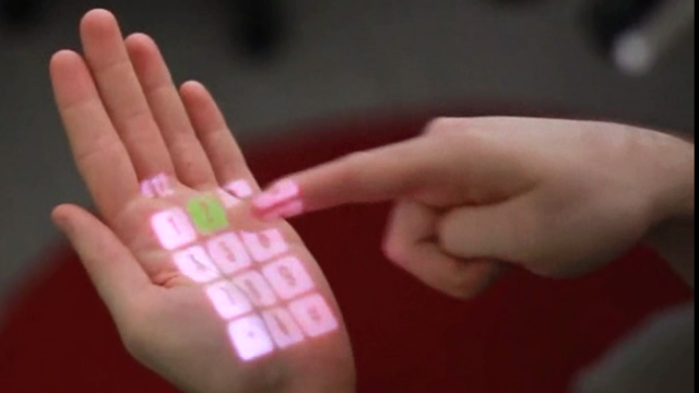 Microsoft researchers want to turn your hand into a touchscreen