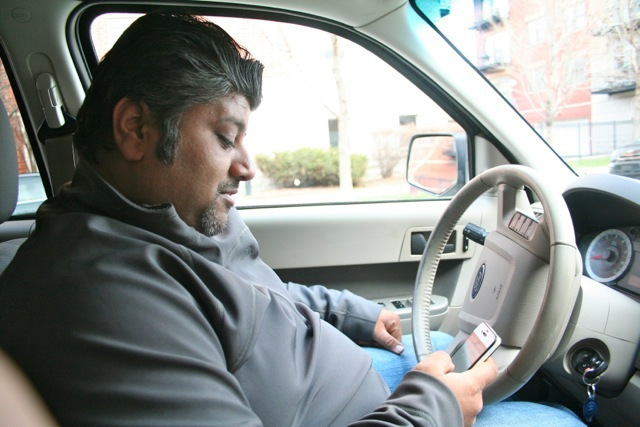 Old services meet new media: a tweeting cabbie's growing business