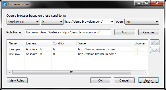 UniBrows: new add-on puts IE6 in your IE8